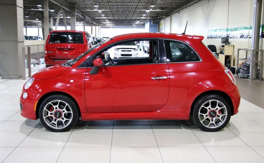 2015 Fiat 500 Sport AUTO A/C MAGS BLUETOOTH #3