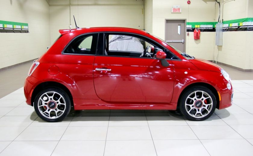 2015 Fiat 500 Sport AUTO A/C MAGS BLUETOOTH #7