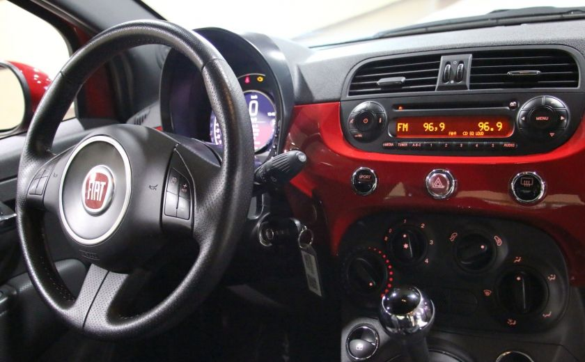 2015 Fiat 500 Sport AUTO A/C MAGS BLUETOOTH #18