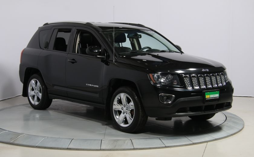 2014 Jeep Compass Limited 4WD CUIR A/C TOIT NAV MAGS #0