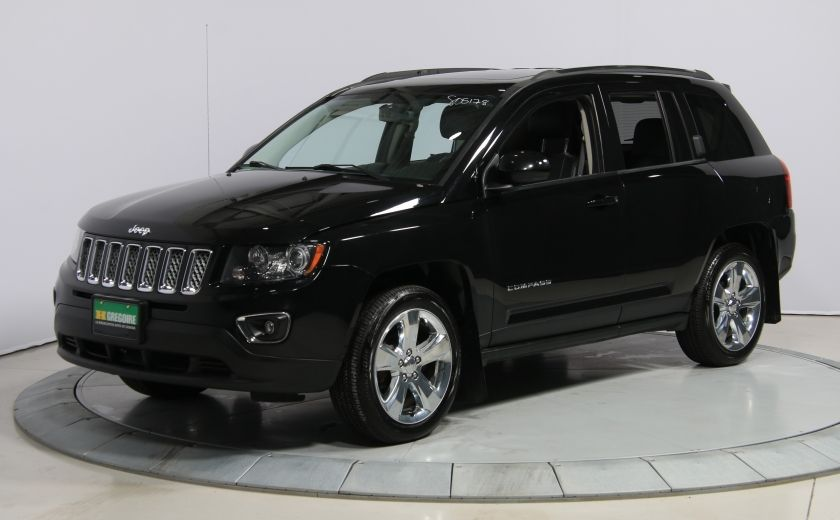2014 Jeep Compass Limited 4WD CUIR A/C TOIT NAV MAGS #2