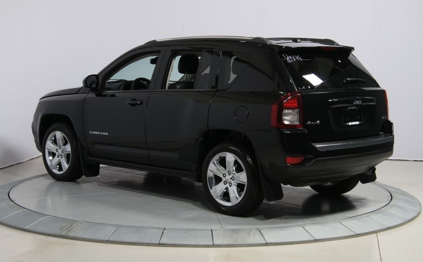 2014 Jeep Compass Limited 4WD CUIR A/C TOIT NAV MAGS #4