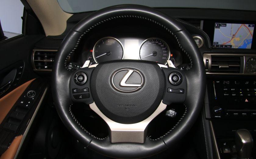 2014 Lexus IS350 4dr Sdn AWD AUTO CUIR TOIT NAV MAGS BLUETOOTH #16