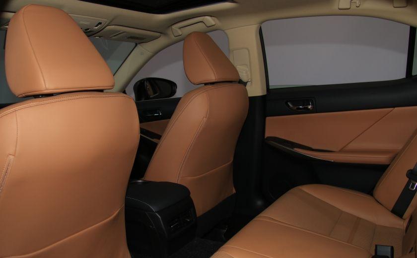 2014 Lexus IS350 4dr Sdn AWD AUTO CUIR TOIT NAV MAGS BLUETOOTH #25