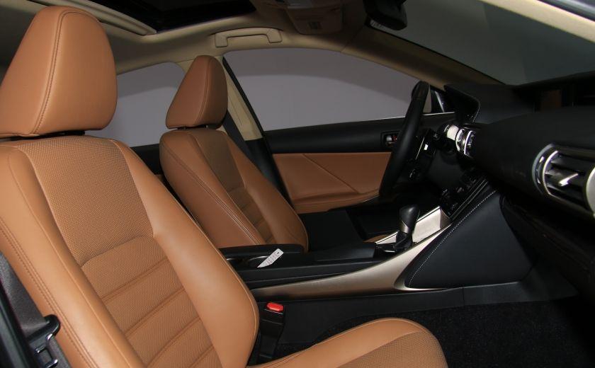 2014 Lexus IS350 4dr Sdn AWD AUTO CUIR TOIT NAV MAGS BLUETOOTH #31