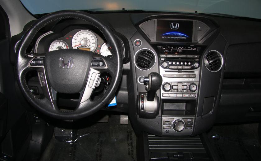 2014 Honda Pilot Touring AWD CUIR TOIT NAV DVD MAGS 7PASSAGERS #14