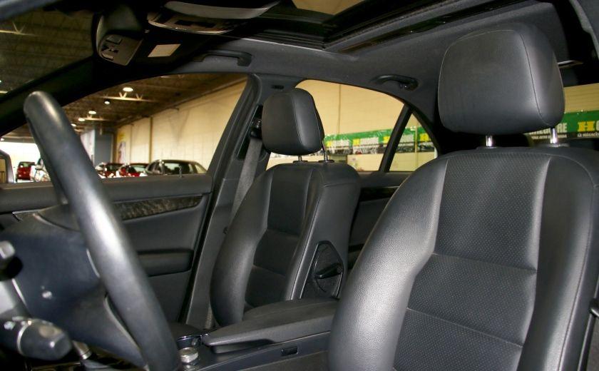 2010 Mercedes Benz C250 4MATIC AUTO A/C CUIR TOIT MAGS #9