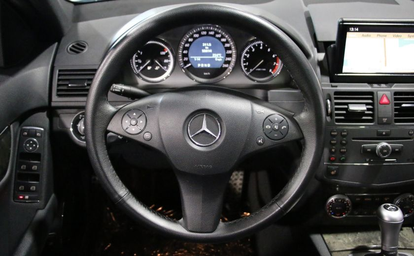 2010 Mercedes Benz C250 4MATIC AUTO A/C CUIR TOIT MAGS #15