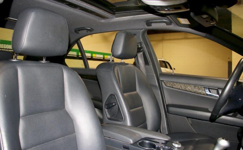 2010 Mercedes Benz C250 4MATIC AUTO A/C CUIR TOIT MAGS #25