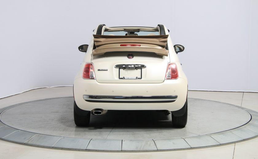 2012 Fiat 500 Lounge AUTO CUIR DÉCAPOTABLE MAGS BLUETOOTH #5