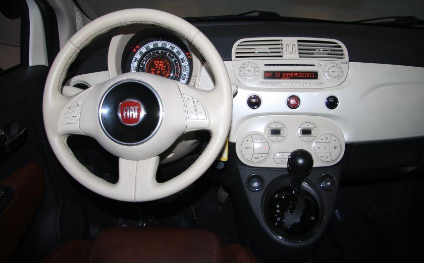 2012 Fiat 500 Lounge AUTO CUIR DÉCAPOTABLE MAGS BLUETOOTH #15