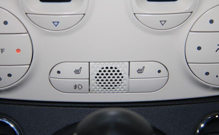 2012 Fiat 500 Lounge AUTO CUIR DÉCAPOTABLE MAGS BLUETOOTH #20