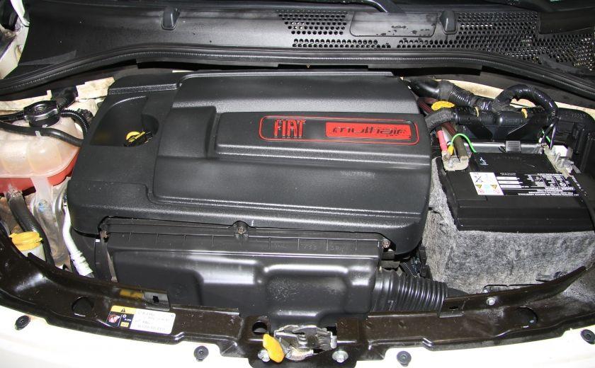 2012 Fiat 500 Lounge AUTO CUIR DÉCAPOTABLE MAGS BLUETOOTH #27