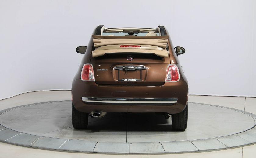 2012 Fiat 500 Lounge AUTO CUIR DÉCAPOTABLE MAGS BLUETOOTH #4