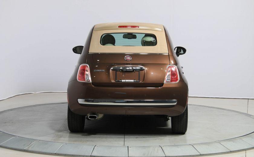 2012 Fiat 500 Lounge AUTO CUIR DÉCAPOTABLE MAGS BLUETOOTH #8