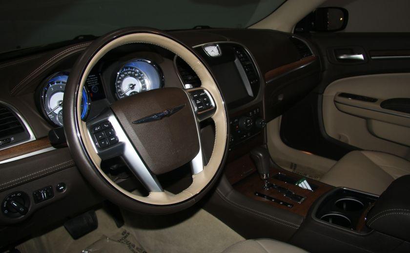 2012 Chrysler 300 Luxury Series AWD CUIR TOIT PANO NAV MAGS BLUETOOT #8