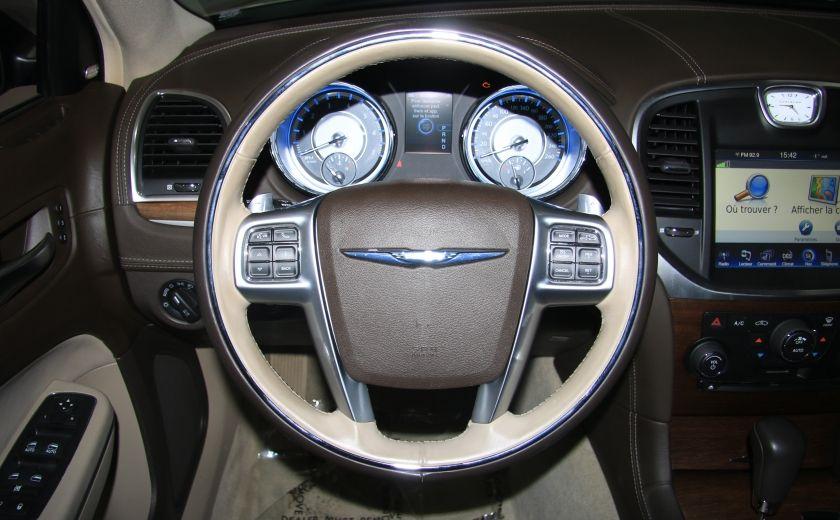 2012 Chrysler 300 Luxury Series AWD CUIR TOIT PANO NAV MAGS BLUETOOT #15