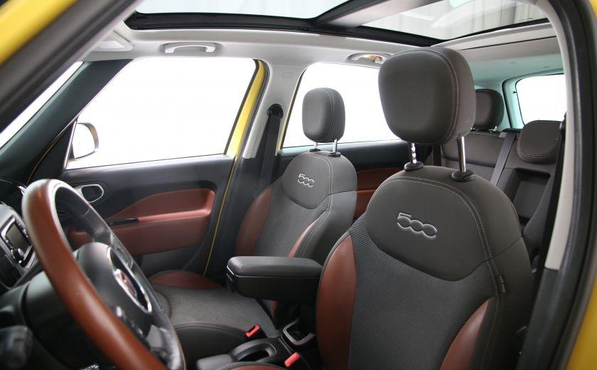2014 Fiat 500L Trekking TOIT PANO #10