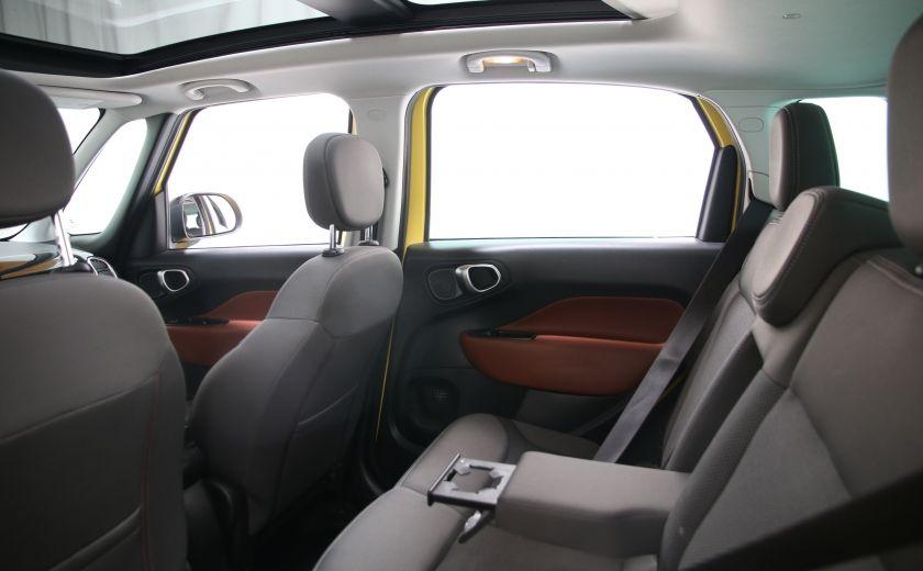 2014 Fiat 500L Trekking TOIT PANO #15