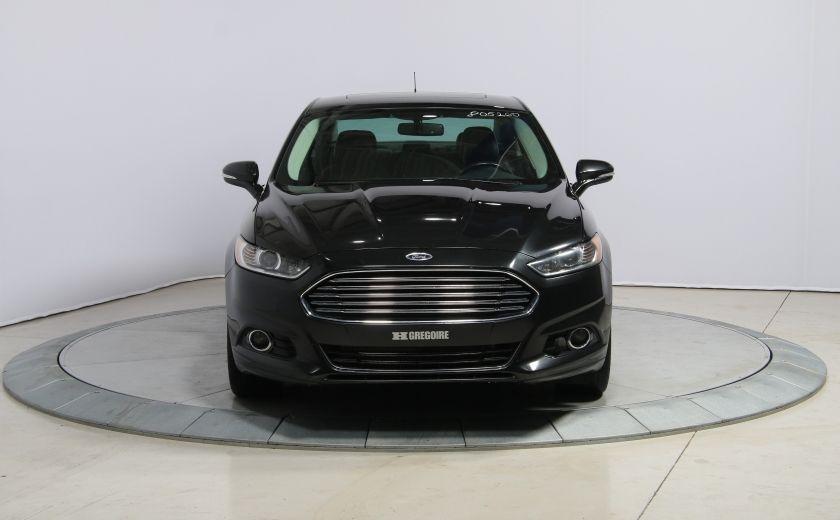2013 Ford Fusion Titanium AWD CUIR TOIT MAGS BLUETOOTH #1