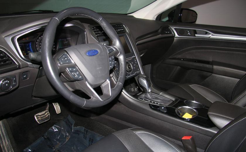 2013 Ford Fusion Titanium AWD CUIR TOIT MAGS BLUETOOTH #8