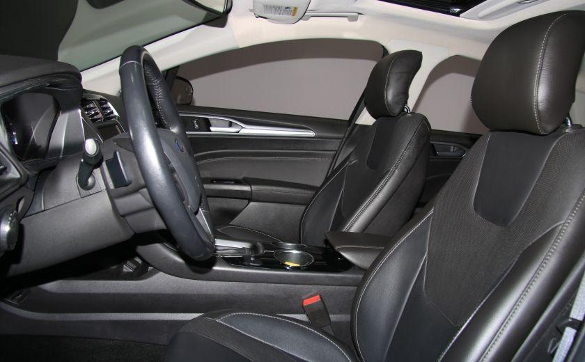 2013 Ford Fusion Titanium AWD CUIR TOIT MAGS BLUETOOTH #9