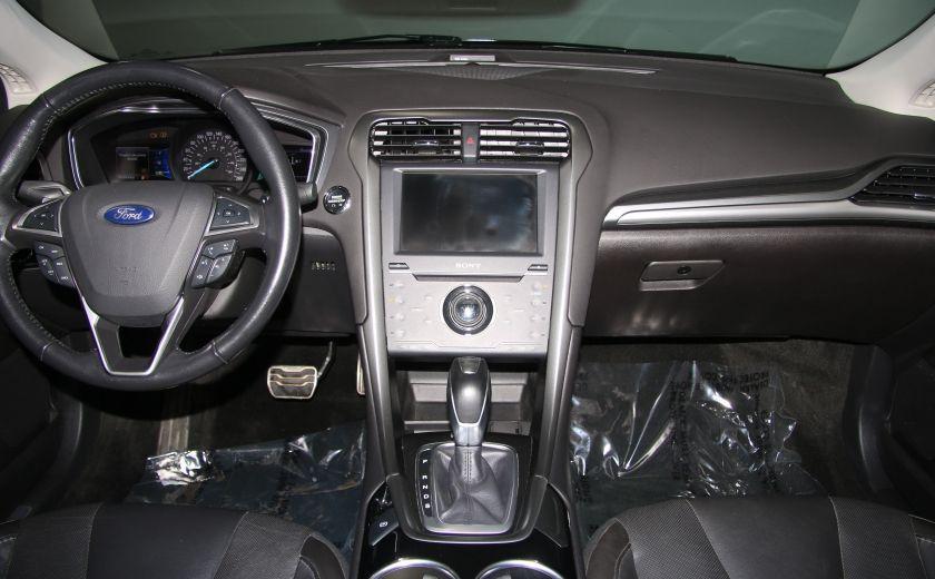 2013 Ford Fusion Titanium AWD CUIR TOIT MAGS BLUETOOTH #13