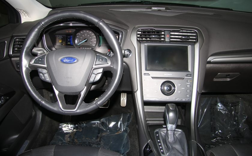 2013 Ford Fusion Titanium AWD CUIR TOIT MAGS BLUETOOTH #14