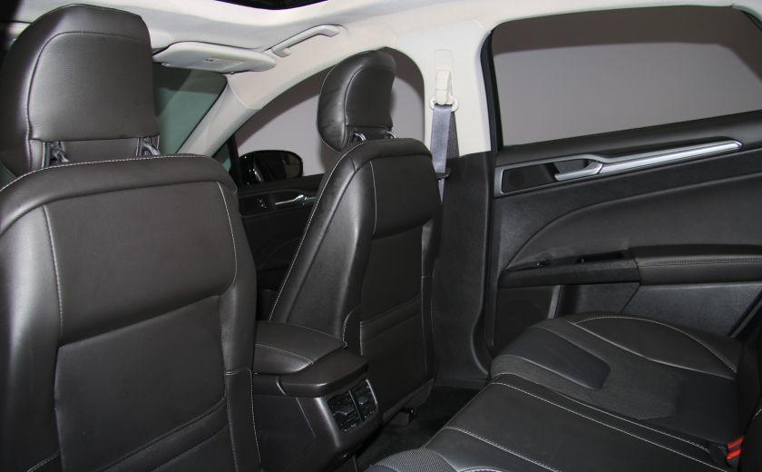 2013 Ford Fusion Titanium AWD CUIR TOIT MAGS BLUETOOTH #21