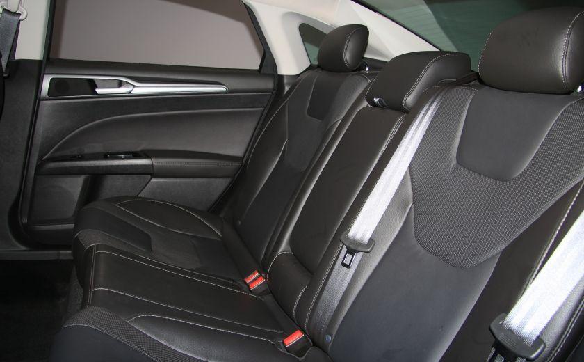 2013 Ford Fusion Titanium AWD CUIR TOIT MAGS BLUETOOTH #22