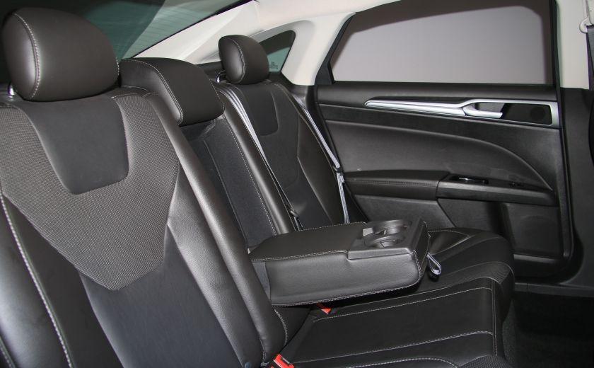 2013 Ford Fusion Titanium AWD CUIR TOIT MAGS BLUETOOTH #24