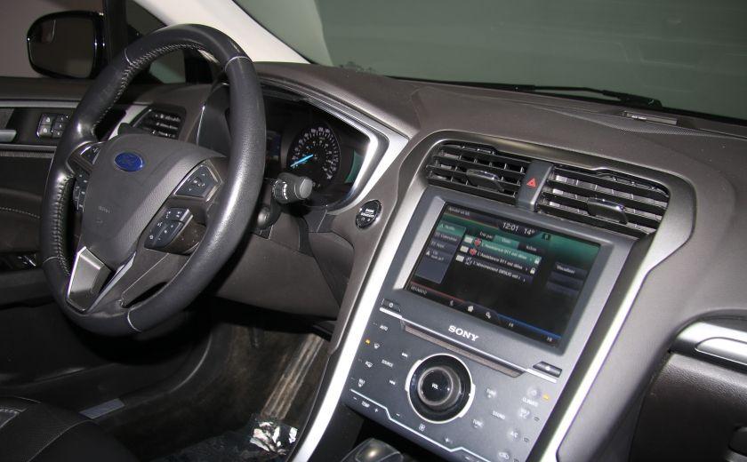 2013 Ford Fusion Titanium AWD CUIR TOIT MAGS BLUETOOTH #26
