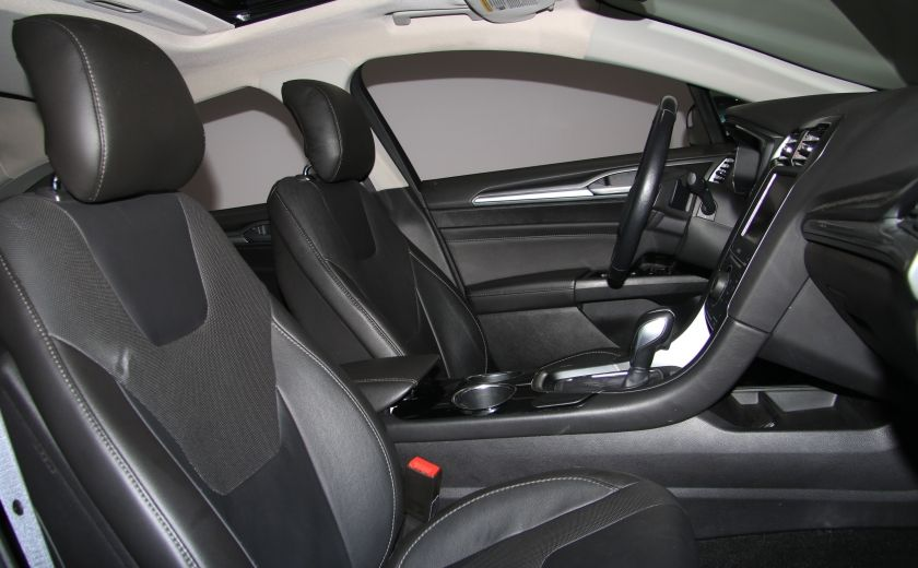2013 Ford Fusion Titanium AWD CUIR TOIT MAGS BLUETOOTH #27