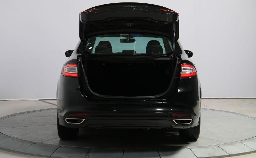2013 Ford Fusion Titanium AWD CUIR TOIT MAGS BLUETOOTH #30