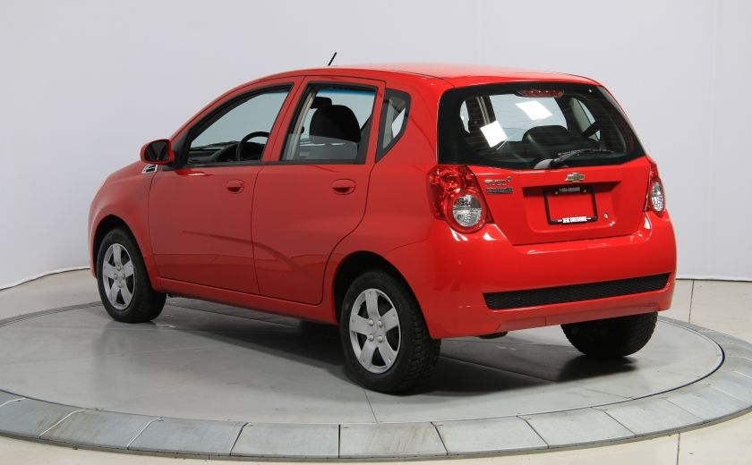 2011 Chevrolet Aveo LT #4