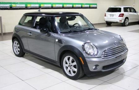 2009 Mini Cooper Classic A/C CUIR TOIT MAGS BLUETOOTH in Saguenay