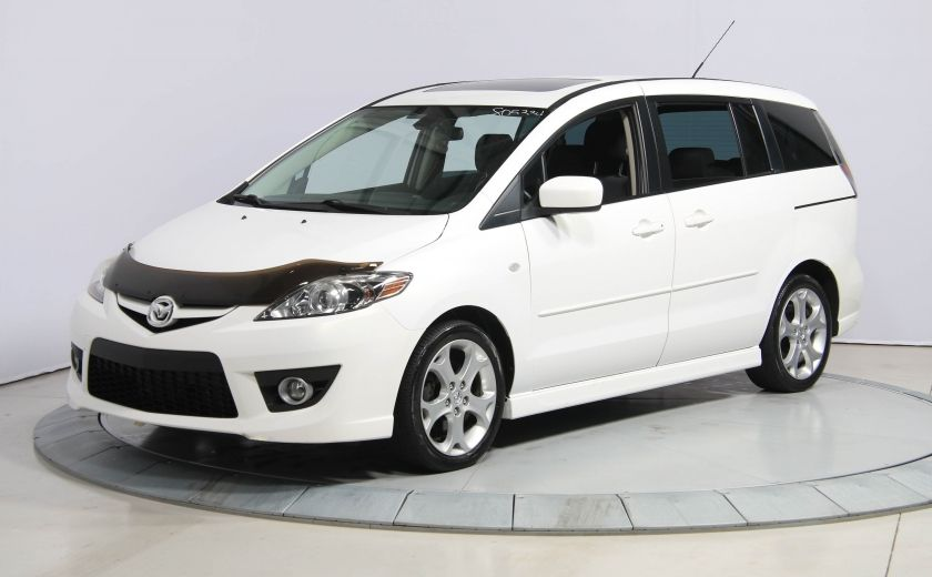 2009 Mazda 5 GT AUTO A/C GR ELECT TOIT MAGS BLUETOOTH #2
