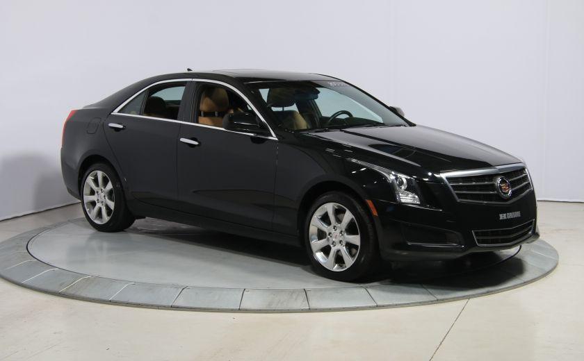 2013 Cadillac ATS 2.0 TURBO AWD CUIR TOIT MAGS BLUETHOOT #0