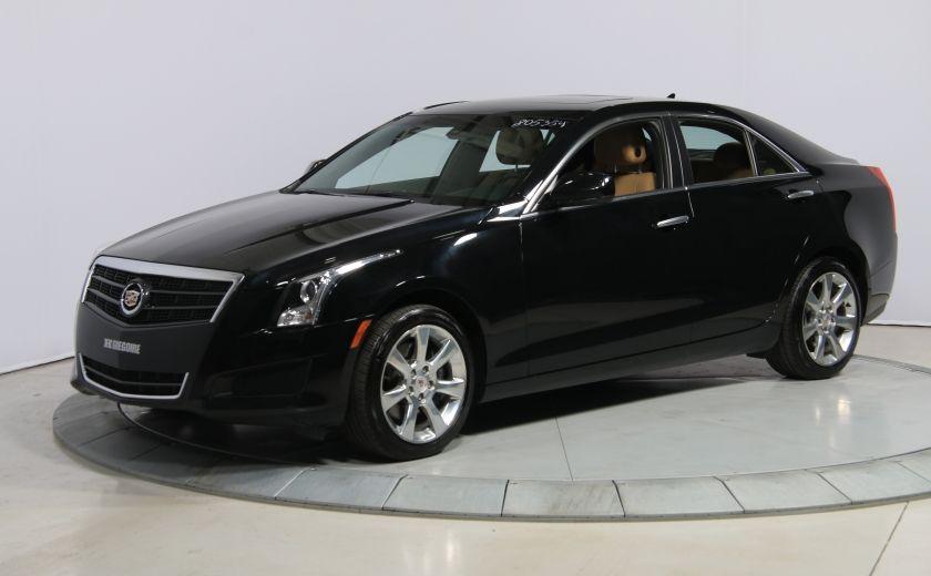 2013 Cadillac ATS 2.0 TURBO AWD CUIR TOIT MAGS BLUETHOOT #2