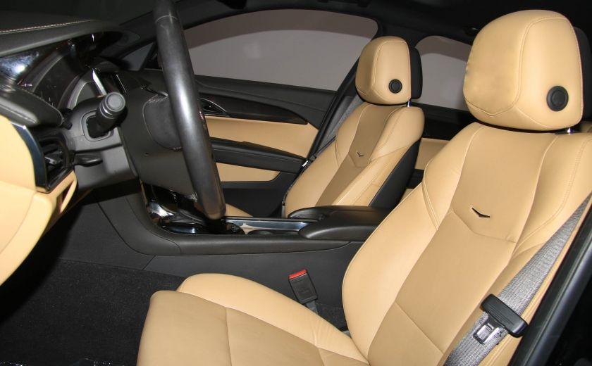 2013 Cadillac ATS 2.0 TURBO AWD CUIR TOIT MAGS BLUETHOOT #9