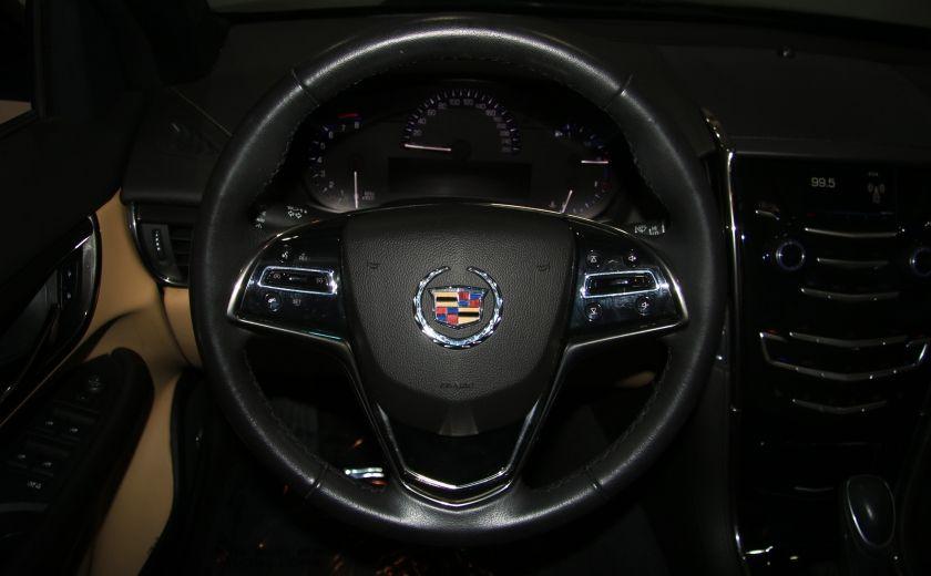 2013 Cadillac ATS 2.0 TURBO AWD CUIR TOIT MAGS BLUETHOOT #15