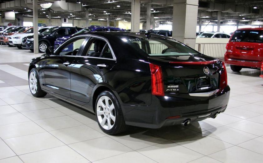 2013 Cadillac ATS 2.0 TURBO AWD AUTO A/C CUIR MAGS #4