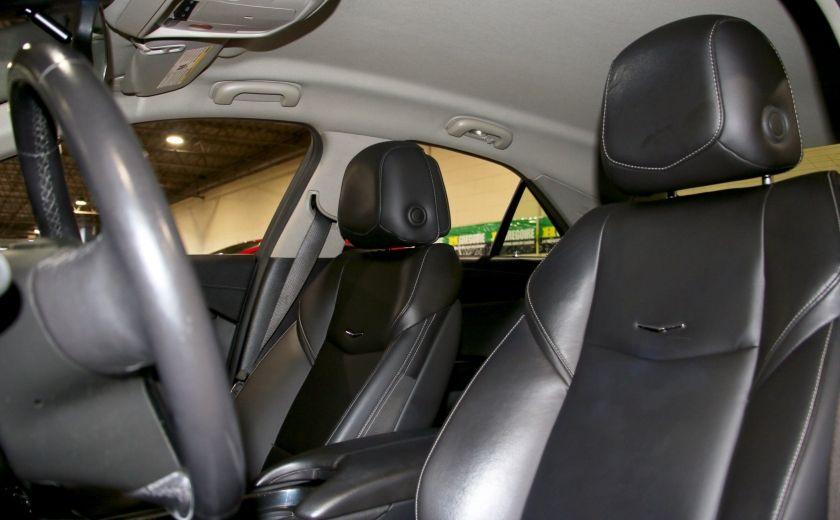2013 Cadillac ATS 2.0 TURBO AWD AUTO A/C CUIR MAGS #9