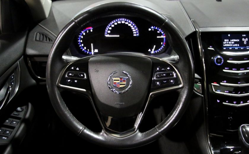 2013 Cadillac ATS 2.0 TURBO AWD AUTO A/C CUIR MAGS #14