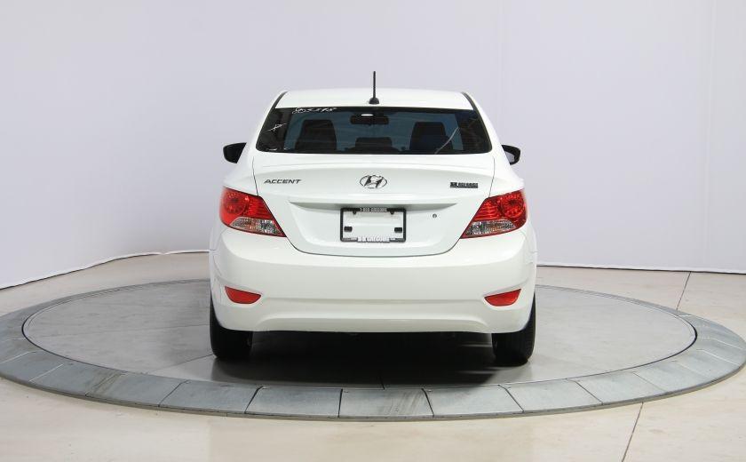 2012 Hyundai Accent GL AUTO A/C GR ELECT #5
