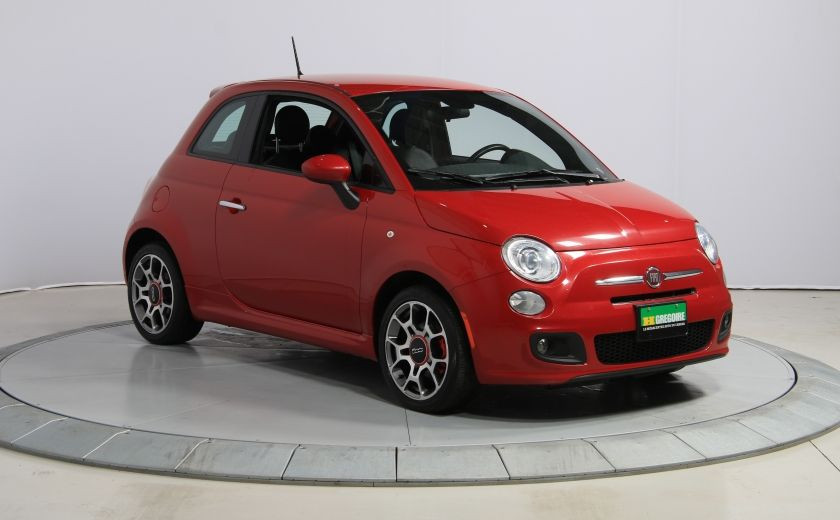 2015 Fiat 500 Sport AUTO A/C CUIR GR ELECT MAGS BLUETOOTH #0