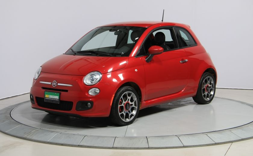 2015 Fiat 500 Sport AUTO A/C CUIR GR ELECT MAGS BLUETOOTH #2