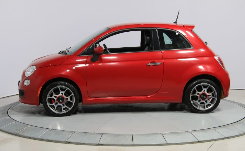 2015 Fiat 500 Sport AUTO A/C CUIR GR ELECT MAGS BLUETOOTH #3
