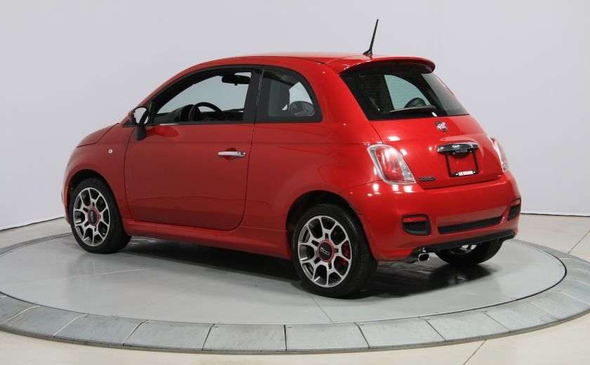 2015 Fiat 500 Sport AUTO A/C CUIR GR ELECT MAGS BLUETOOTH #4