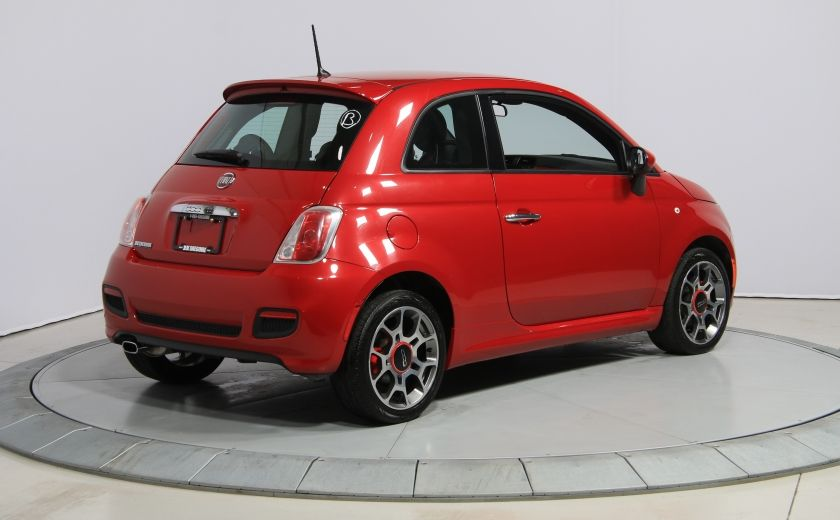 2015 Fiat 500 Sport AUTO A/C CUIR GR ELECT MAGS BLUETOOTH #6